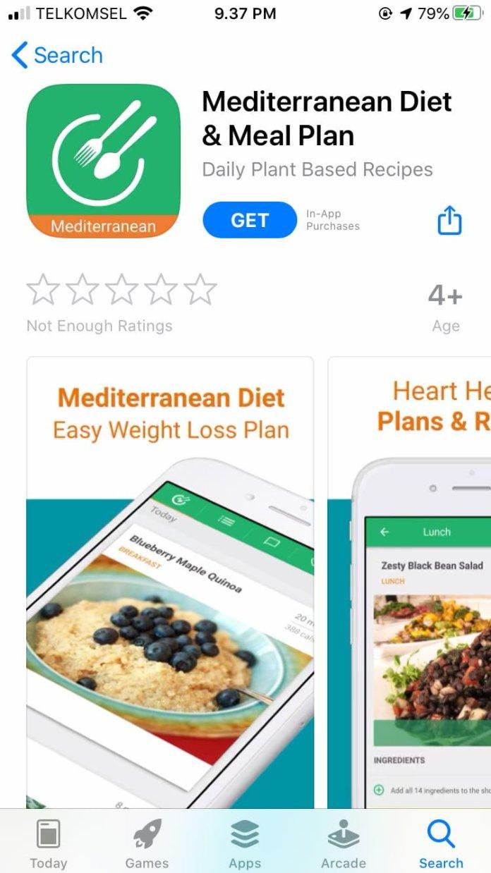 Mediterranean Diet: 5 Apps Improve Your Diet