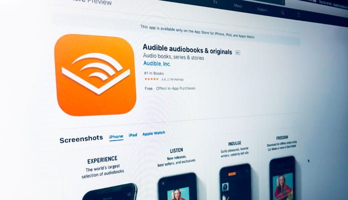 Audible App an Audiobook From Amazon Offers 99p for 3 Months