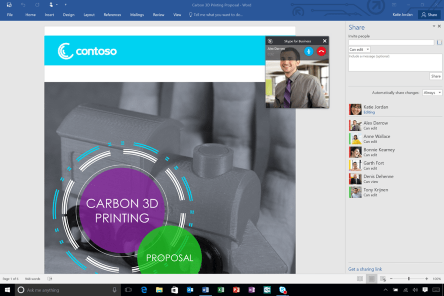 03. Office 2016 Skype for Business Integration - Video