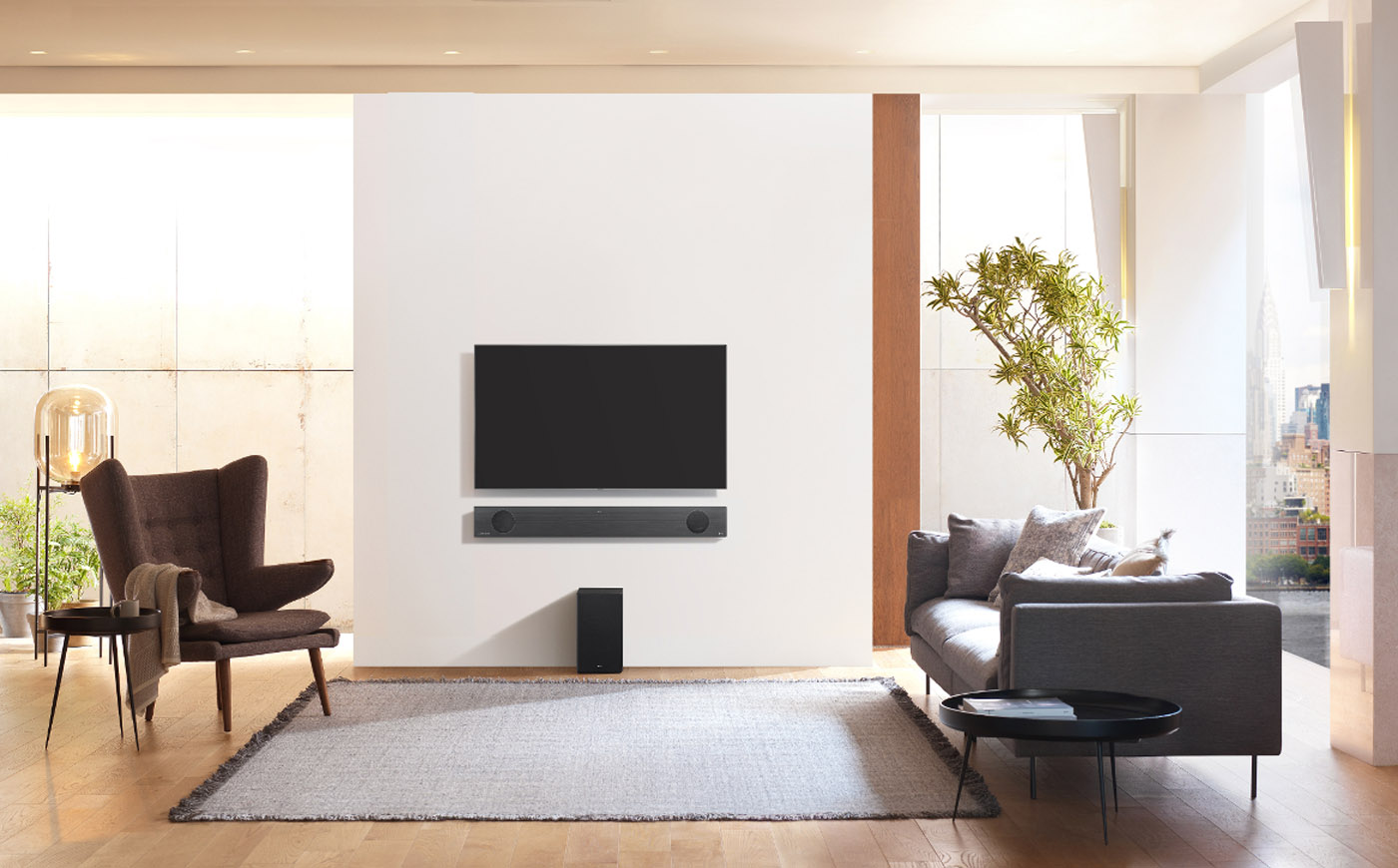 LG's 2019 Soundbar Models Include Built-in Google Assistant