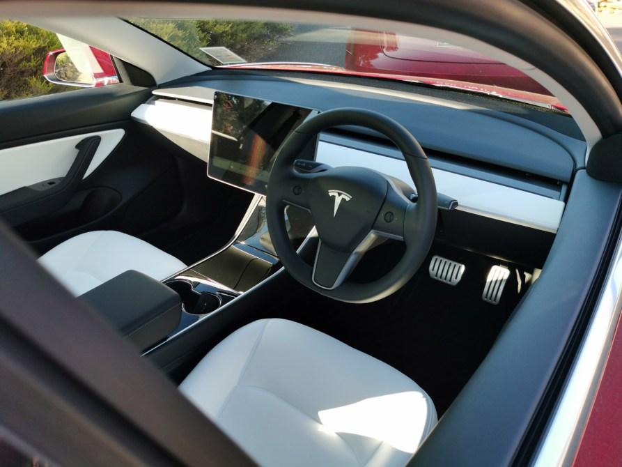 Tesla Model 3's Premium Interior audio turns the car into a