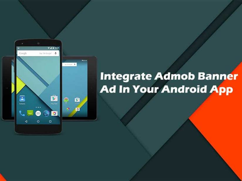 Add admob banner ad in your android app using android studio