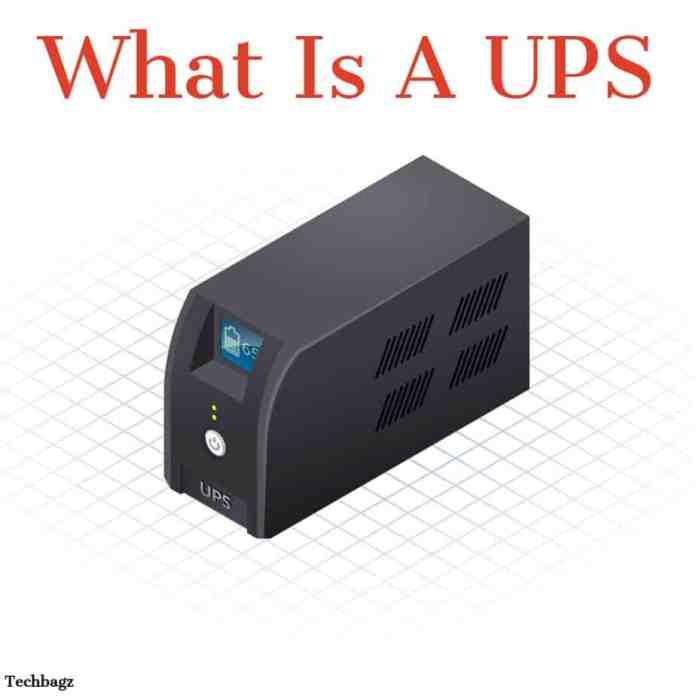 UPS क्या है.