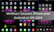 lanceurs iPhone pour Android