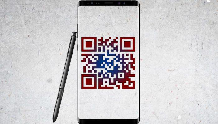 Comment scanner les codes QR sur Galaxy Note 9