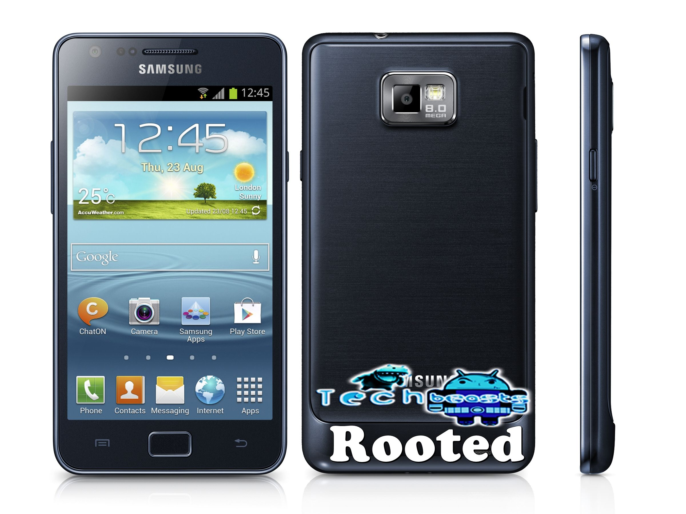 How to Install CWM & Root Samsung Galay S2 Plus GT-I9105