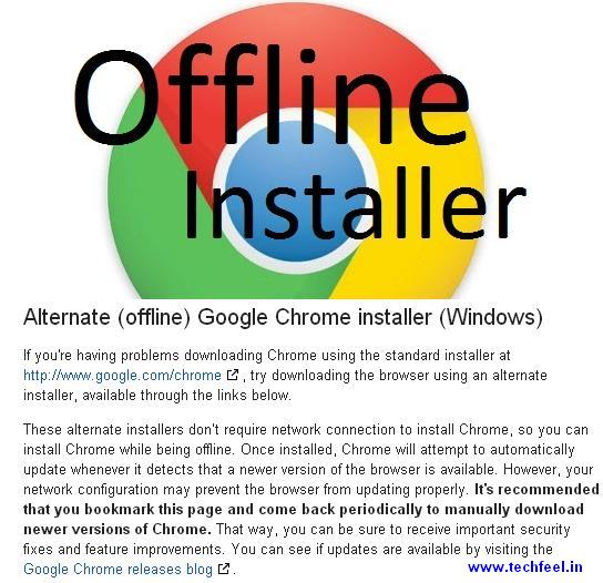 How-To-Download-Google-Chrome-Offline-Installer-For-Free