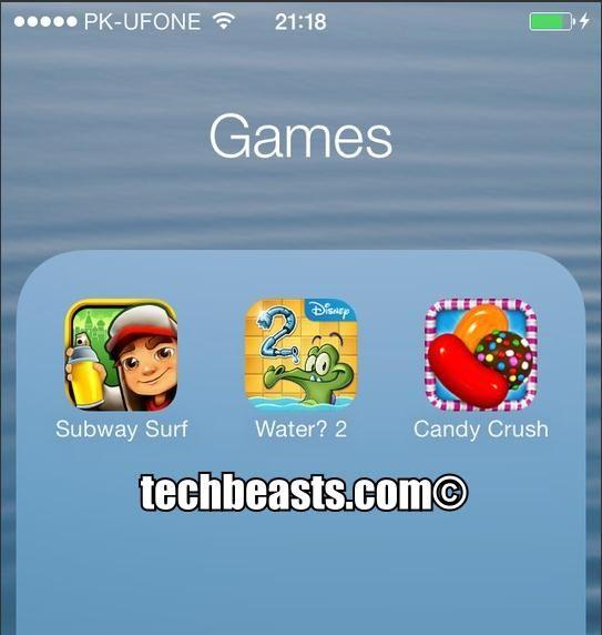 Nested Folder for iOS 7