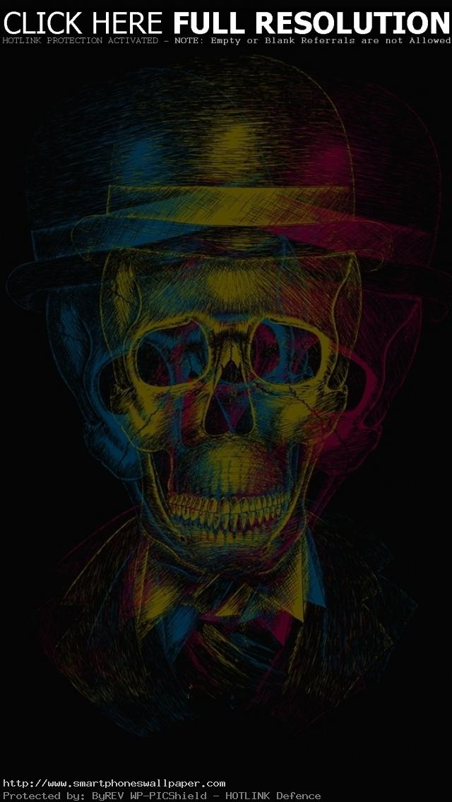 Skull-IPhone-5-Wallpaper