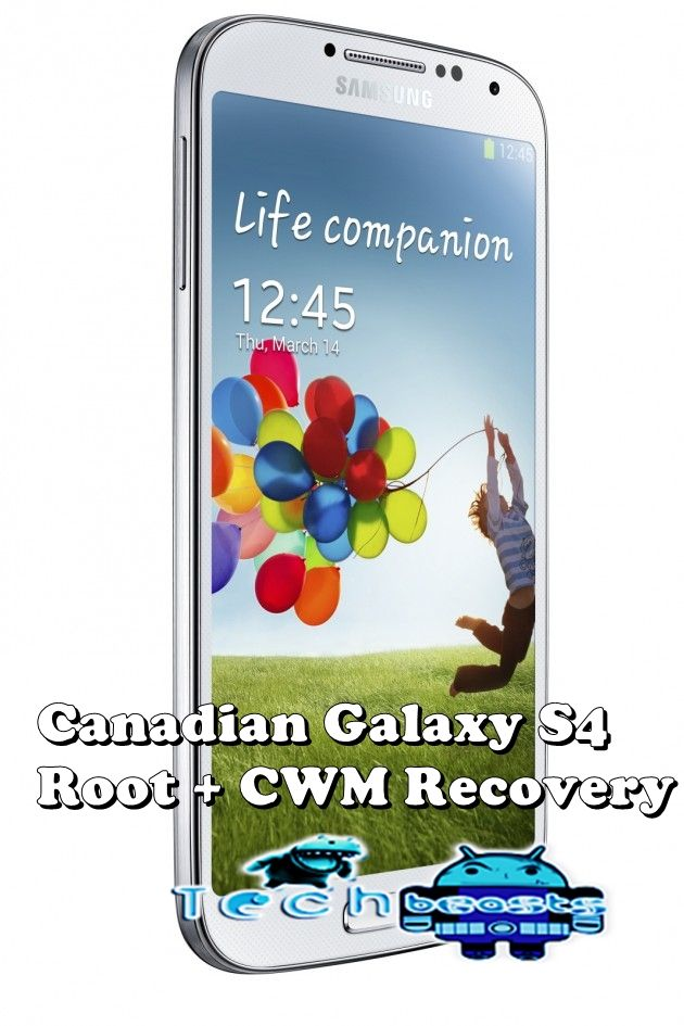 How To Root And Install Cwm Recovery On Canadian Galaxy S4 Sgh I337m