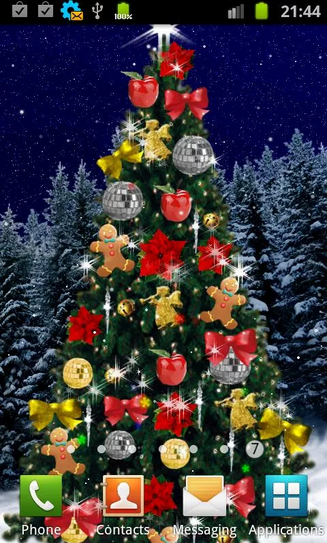 10 christmas live wallpapers for your android smartphone christmas tree 3 christmas tree christmas tree2 voltagebd Image collections
