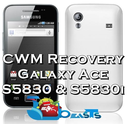 clockworkmod recovery galaxy ace gt-s5830i