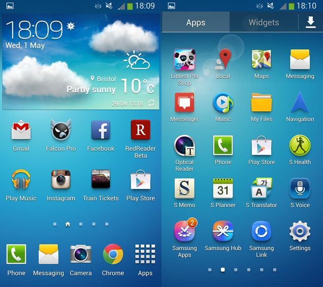 Install Galaxy S4 Launcher And Weather Widget On Any
