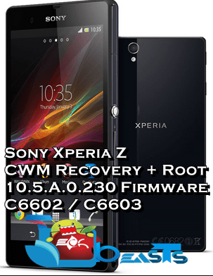 CWM and Root Xperia Z KitKat