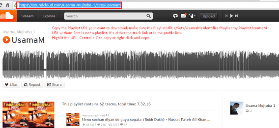 How to Download Complete SoundCloud Playlists