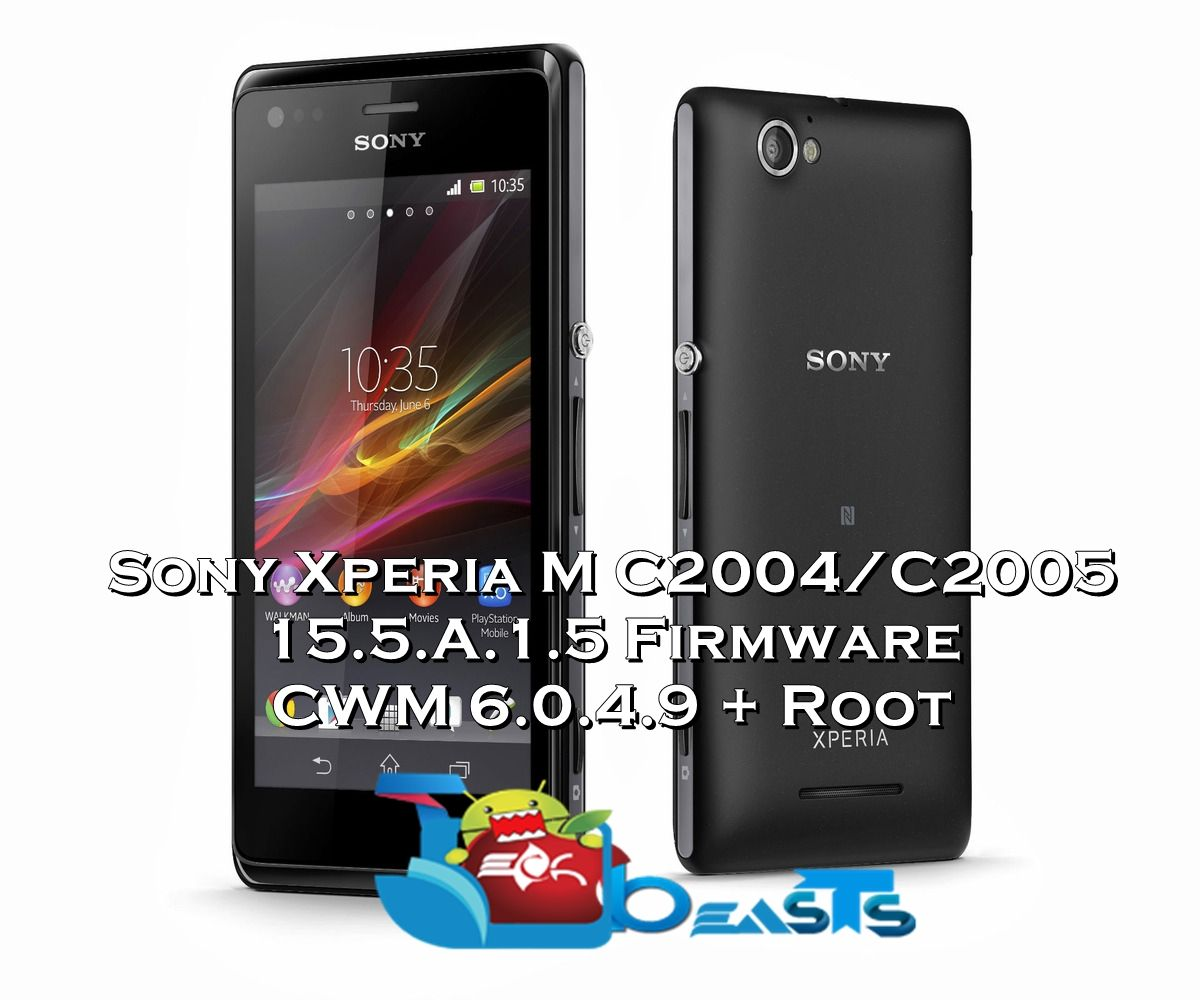 Can reach the cara root sony xperia m dual