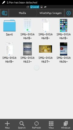 Hide WhatsApp photos from gallery 1