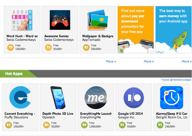 Top Google Play Store alternative app stores