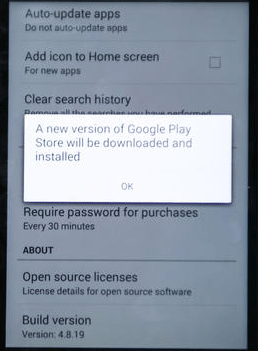 How To Force the Google Play Store app to update