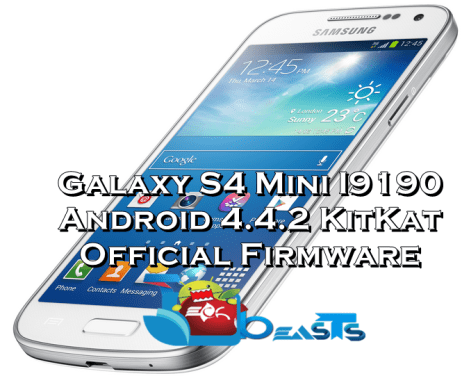 S4 Mini I9190 Android 4.4.2 KitKat XXUCNG1