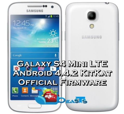 S4 Mini LTe Android 4.4.2 KitKat XXUCNF9 Official