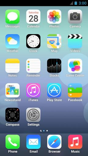 iphone 5 launcher free ios 7 launcher retina iphone 5 1 0 0 apk for android 11005