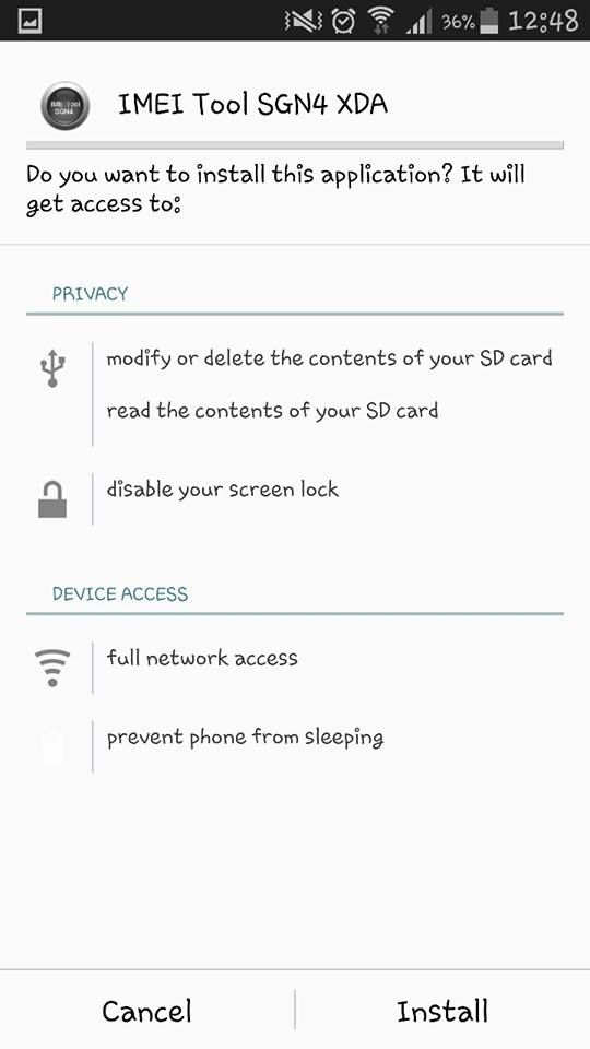 How To Backup EFS On Samsung Galaxy Note 4