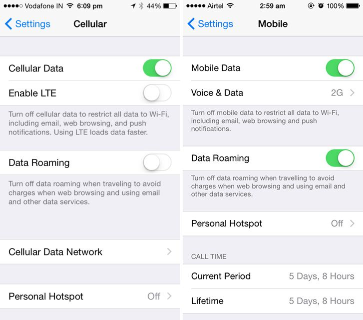 iphone lte setting how to switch to 2g 3g or lte in ios 8 1 on iphone 12013