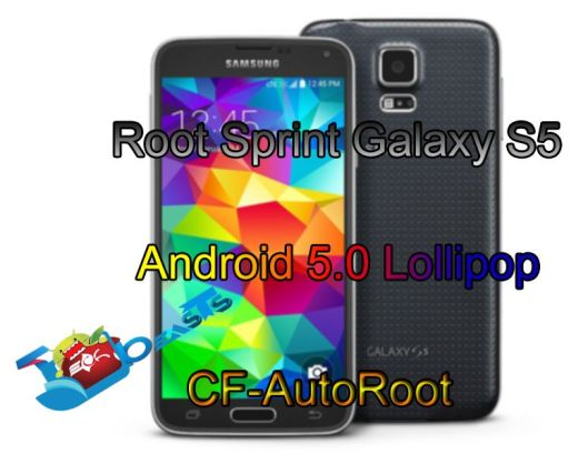 Root Sprint Galaxy S5 on Android 5.0 Lollipop via CF-AutoRoot