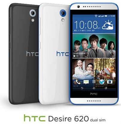 HTC Desire 620 Officially Released
