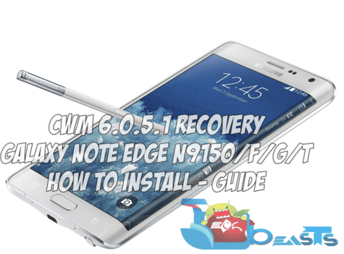 Note Edge CWM Recovery
