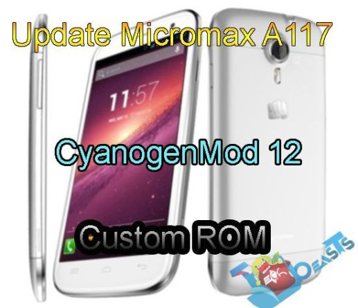 Update Micromax A117 to CyanogenMod 12 Custom ROM