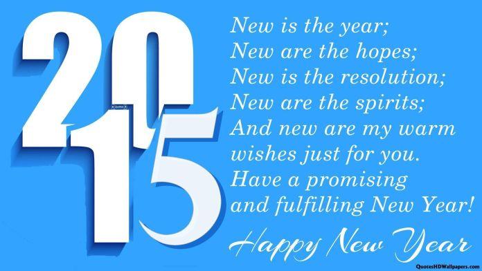 Gambar Kata Ucapan Selamat Tahun Baru 2015