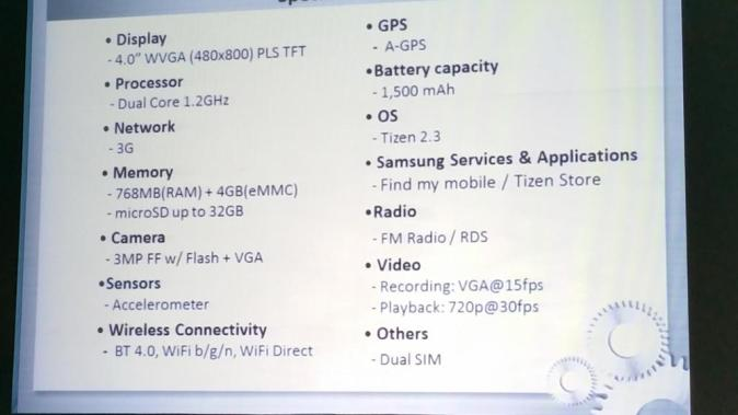samsung-z1-specifications