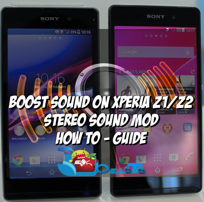 Boost Sound On Your Xperia Z1/Z2 With This Sound MOD