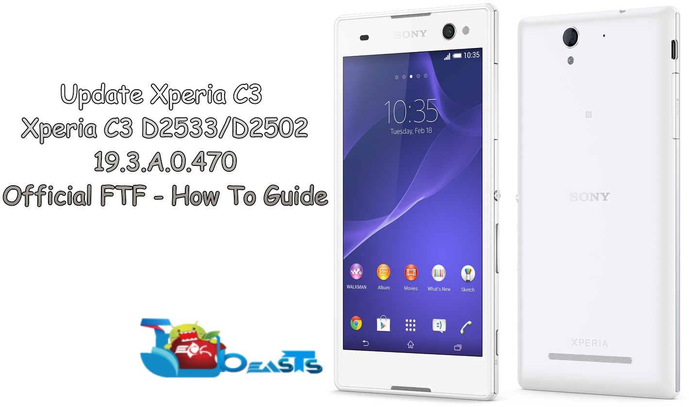 sony xperia c3 flash tool free download