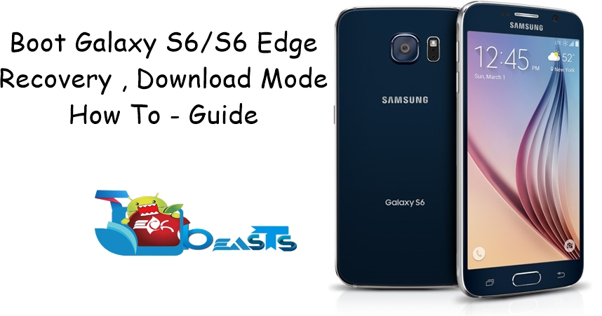 How To Reboot Galaxy S6 & S6 Edge In Recovery, Download