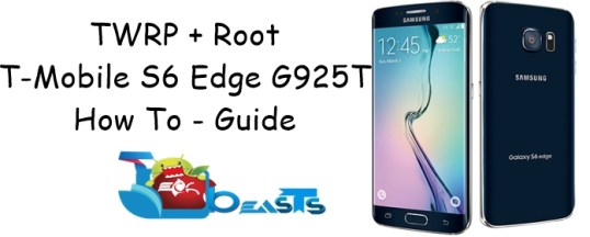 Install TWRP & Root T-Mobile Galaxy S6 Edge G925T