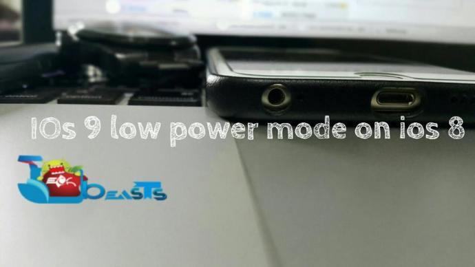 ios 9 low power mode on ios 8