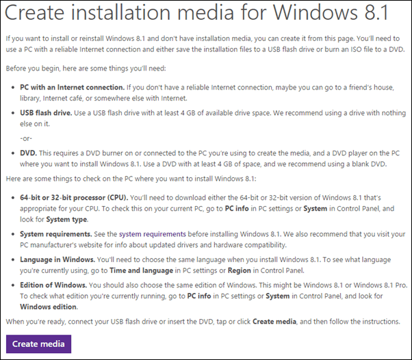 download windows 8.1 iso to usb