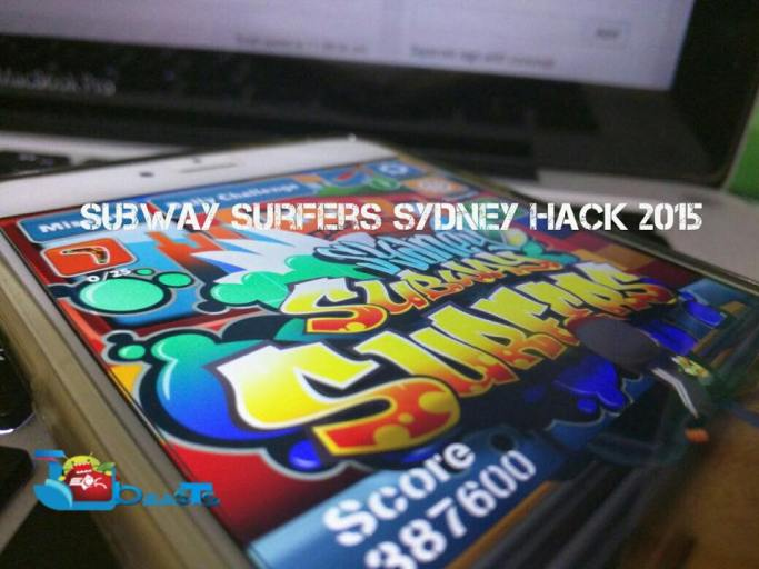 Subway Surfers Sydney Hack 2015