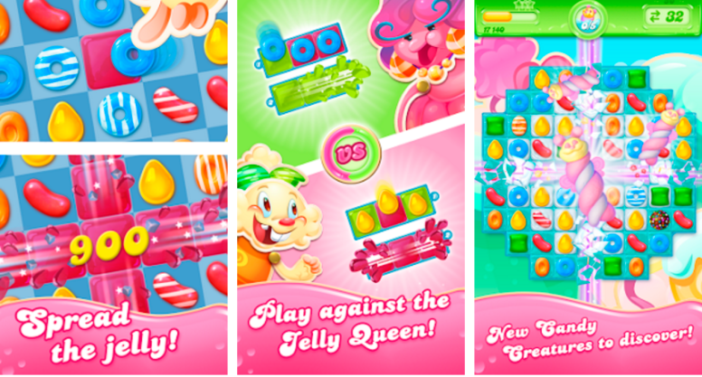 Candy Crush Jelly Saga for PC