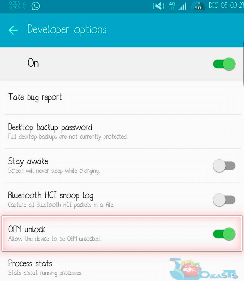 How To Enable OEM Unlock On Android Lollipop, Marshmallow