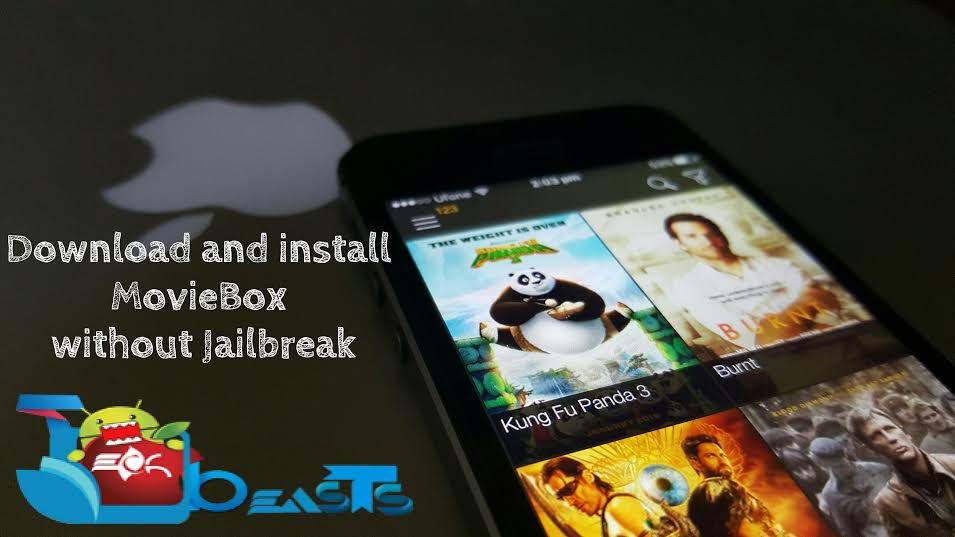 Install and Download MovieBox For iOS 9 / 9 1 / 9 2 1/ 9 3 2