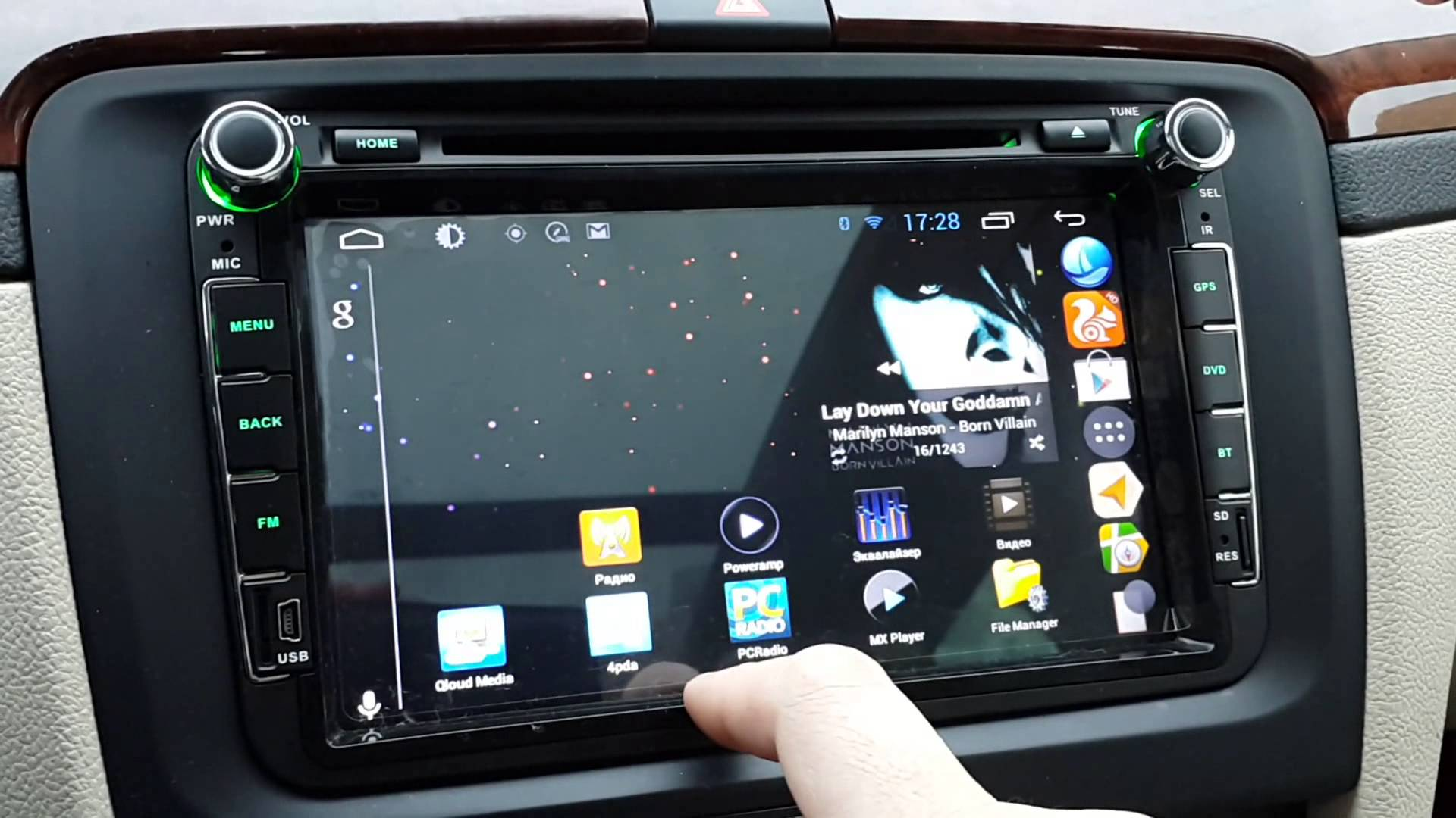 connect Android car stereo