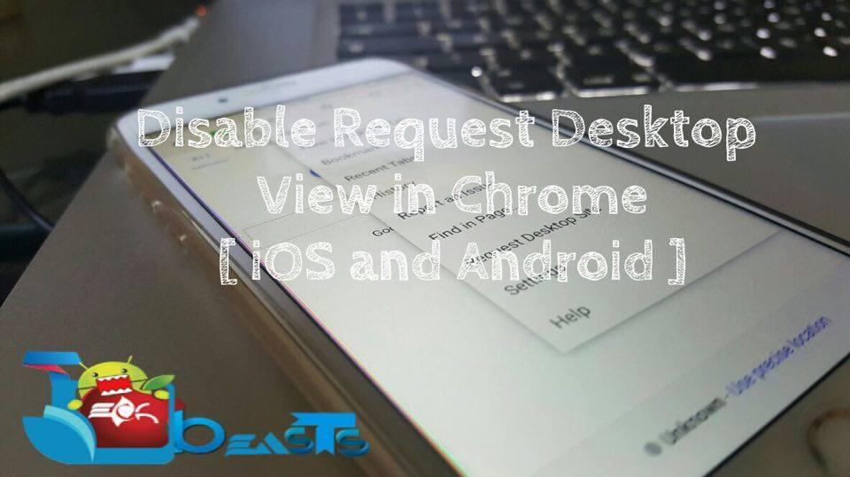 disable request desktop view
