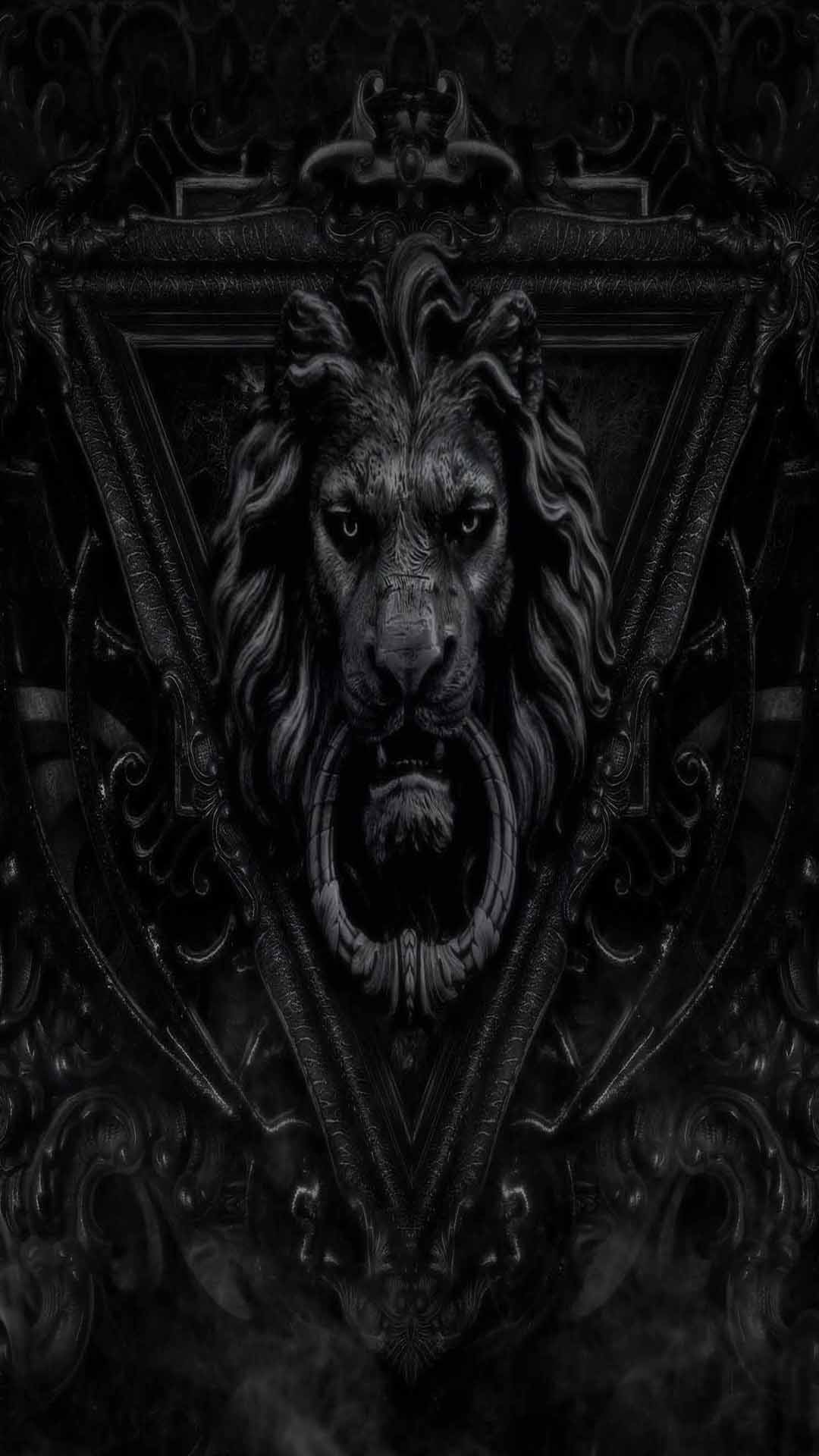 dark gothic lion wallpaper - photo #3