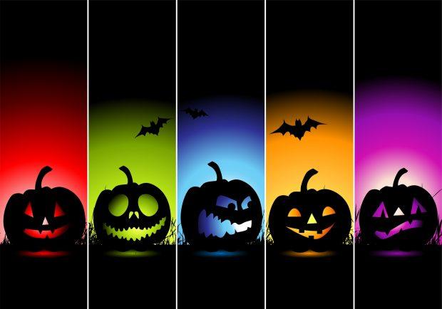 colorful halloween horor wallpaper 620x434 - Halloween Wallpaper Download