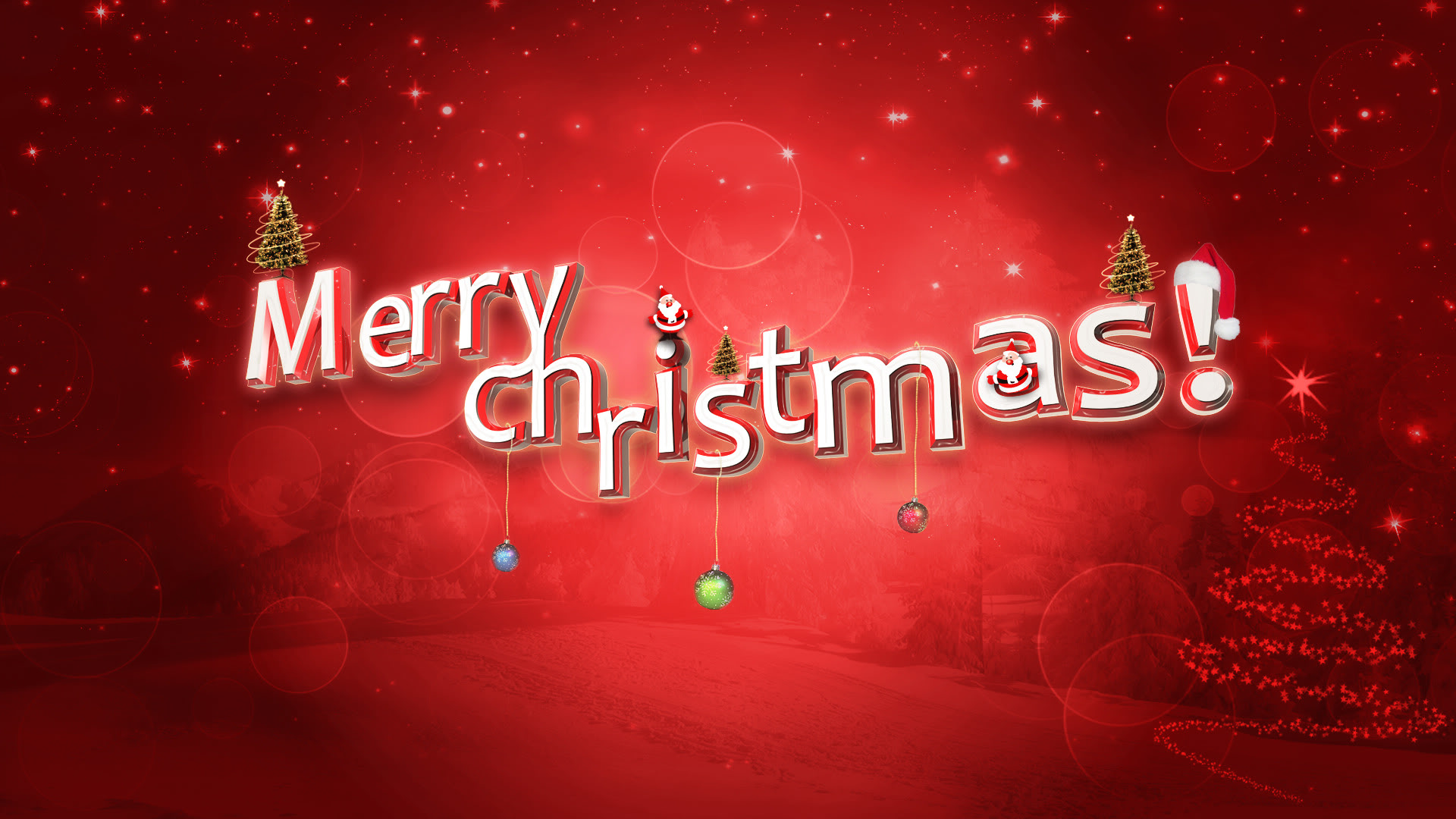 Best HD Merry Christmas 2016 Wallpapers For Your Desktop PC ...