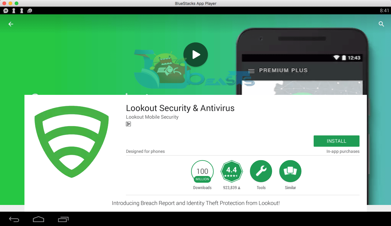 Lookout Security Antivirus for PC